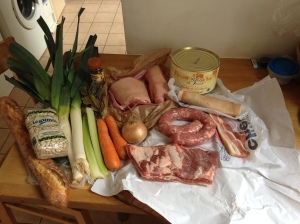 ingredients for cassoulet