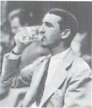 Robert McAlmon drinking, 1928