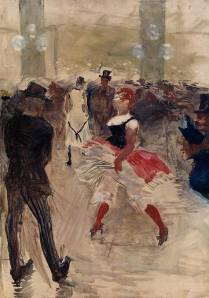Élysée Montmartre (1888) by Henri de Toulouse-Lautrec