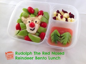 Rudolph-The-red-nosed-reindeer. Most recent addition to lunchboxdad.com - a blog recording one man's effort to drive himself crazy