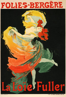 Loie Fuller at the Folies-Bergère (1893)