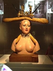 """Salvador Dali, """"Retrospective Bust of a Woman"""" (1933/1970)"""