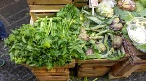 Napoli market greens