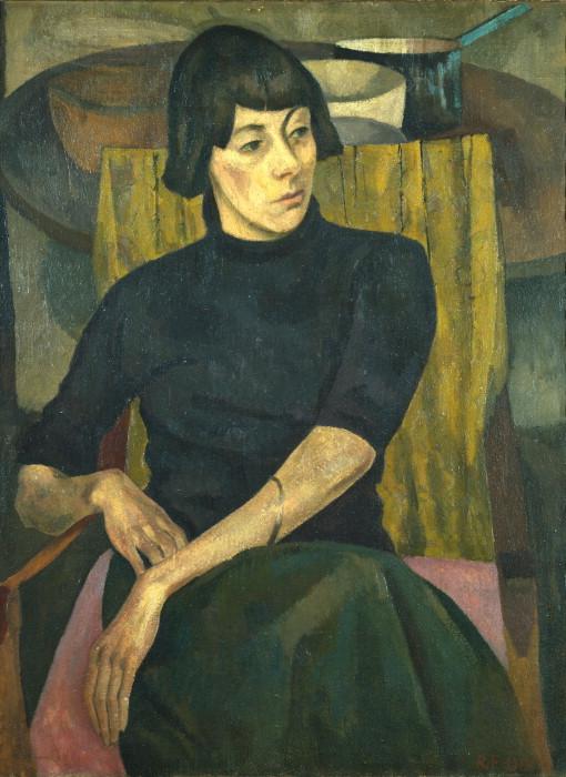 Nina Hamnett, by Roger Fry