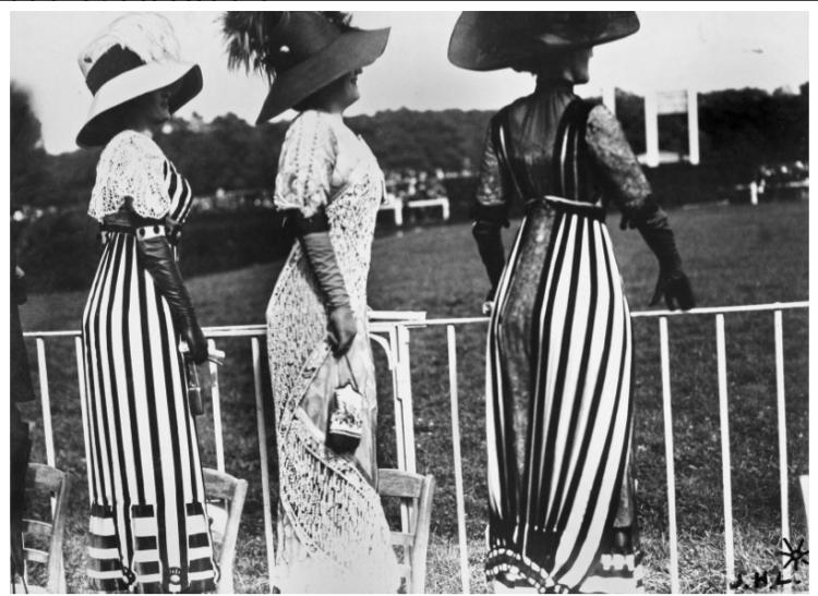 Women at the races at Auteuil, Paris, 1911. Photo by Jacques-Henri Lartigue.