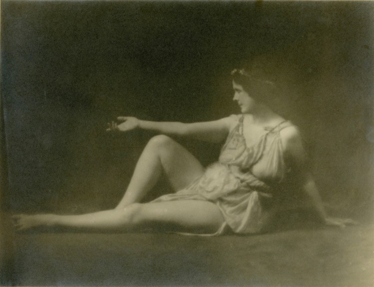 Isadora Duncan, by Arnold Genthe
