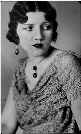 Florence Jay Gould, ca.1930, long before the fatal monkey bite.
