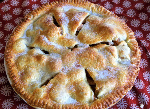 Tim's award-winning homemade apple pie
